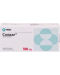 COZAAR TABLETAS 100 MG