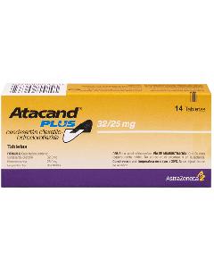 ATACAND PLUS TABLETAS 32 / 25 MG