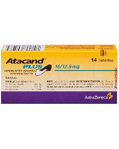 ATACAND PLUS COMPRIMIDOS 16 / 12.5 MG