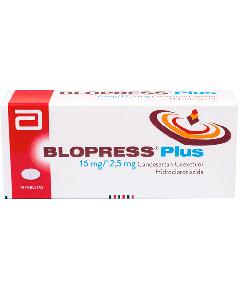 BLOPRESS PLUS TABLETAS 16 MG / 12.5 MG