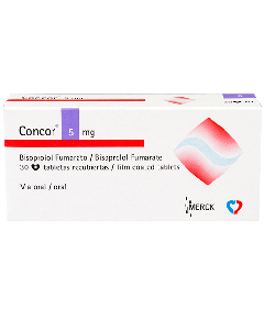 CONCOR TABLETAS 5 MG