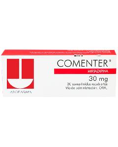 COMENTER COMPRIMIDOS 30 MG