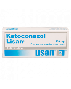 KETOCONAZOL TABLETAS 200 MG