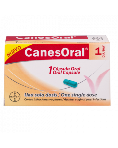 CANESORAL CAPSULA 150 MG