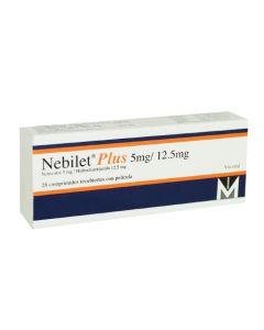 NEBILET COMPRIMIDOS 5/12.5 MG