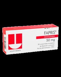 FAPRIS COMPRIMIDOS 50 MG