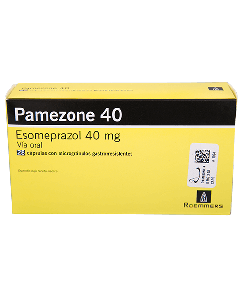 PAMEZONE CAPSULAS 40 MG