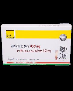 METFORMINA COMPRIMIDOS 850 MG