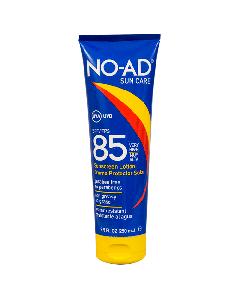 NO-AD LOCION SPF 85 BLOQUEADOR SOLAR 250 ML