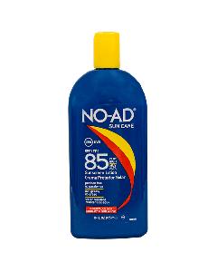 NO-AD LOCION SPF 85 BLOQUEADOR SOLAR 475 ML