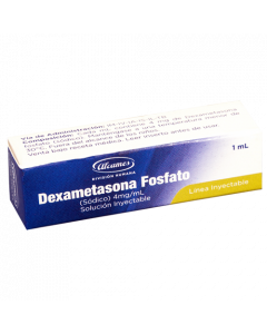 DEXAMETASONA FOSFATO AMPOLLA 1 ML