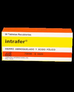 INTRAFER TABLETAS 30 MG