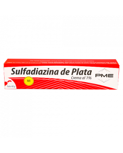 SULFADIAZINA PLATA 1% CREMA 40 G