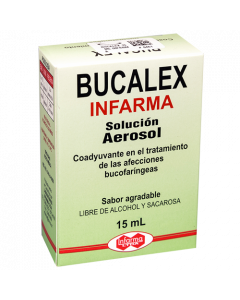 BUCALEX INFARMA SOLUCION 15 ML