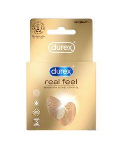 DUREX REAL FEEL X 3 UND