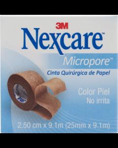 NEXCARE VENDA COLO PIEL 25.4 MM X 9.14 M
