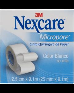 NEXCARE MICROPORE ESPARADRAPO 25.4 MM X 9.14 M