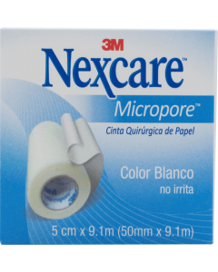 NEXCARE MICROPORE ESPARADRAPO 50.8 MM X 9.14 M