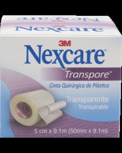 NEXCARE TRANSPORE ESPARADRAPO 50.8 MM X 9.14 M