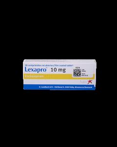 LEXAPRO TABLETAS 10 MG
