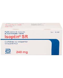ISOPTIN SR TABLETAS 240 MG