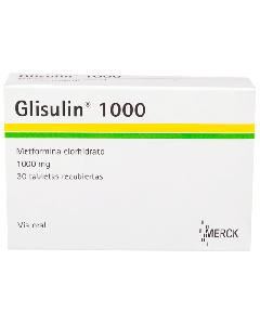 GLISULIN TABLETAS 1000 MG