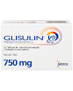 GLISULIN TABLETAS 750 MG