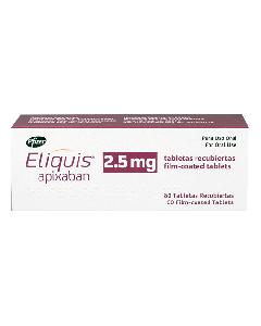 ELIQUIS TABLETAS 2.5 MG