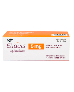 ELIQUIS TABLETAS 5 MG