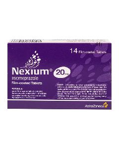 NEXIUM COMPRIMIDOS 20 MG