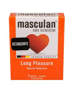 MASCULAN LONG PLEASURE CONDON