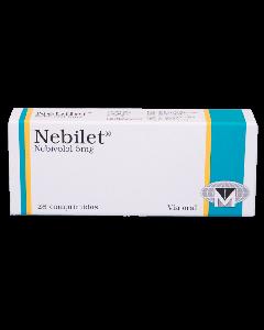 NEBILET COMPRIMIDOS 5 MG