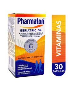 GERIATRIC PHARMA 50+ X 30 CAPS